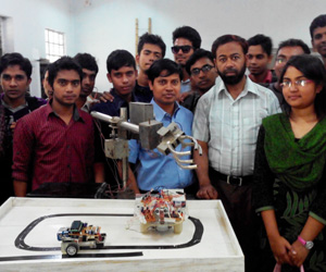 Walking of Mechatronics begins at RUET