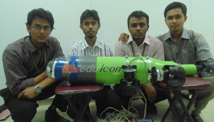 Bangladeshis make robot submarine