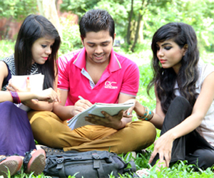 Entrance test for DU Kha-Unit