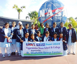 VNSC team at NASA
