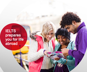 IELTS for higher study abroad