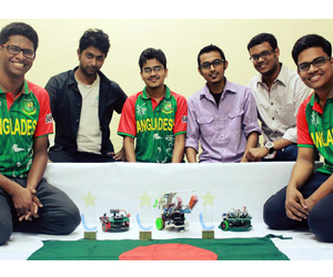 BUET team becomes best in Asia