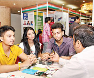 Study in India Fair at Dhaka