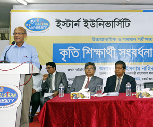 Eastern University holds reception