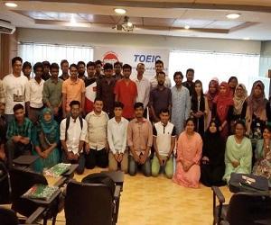 TOEIC Exam held in BD