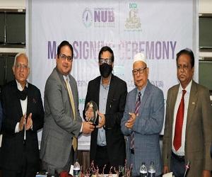 DCCI & NUB MoU Signing News