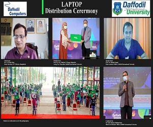 3000 students received free DCL Laptop