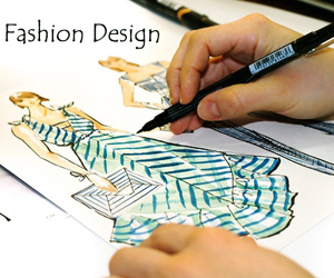 Build Your Future With Fashion Design Career Edu Icon