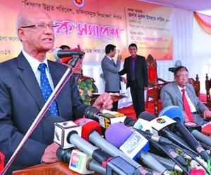 Nahid at seminar against militancy