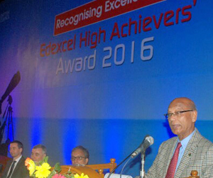 Edexcel High Achievers Award 2016
