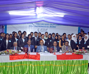 Moot Court held at NUB